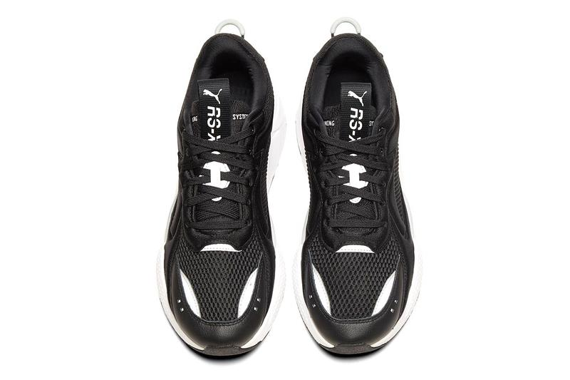 PUMA RS-X Softcase Black and White Colorway