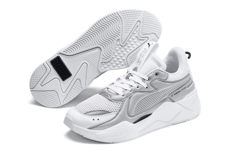 puma rs x rsx softcase sneakers white high rise grey colorway release ultra plush foam backing