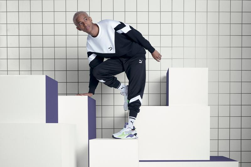 PUMA Releases the RS-X Bold in Three Colorways toys retro inspired running shoes technology green, purple and black primary secondary