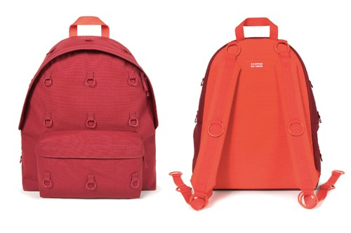 Raf Simons & Eastpak Rejoin for a Series of Bonded Metal Loop Backpacks