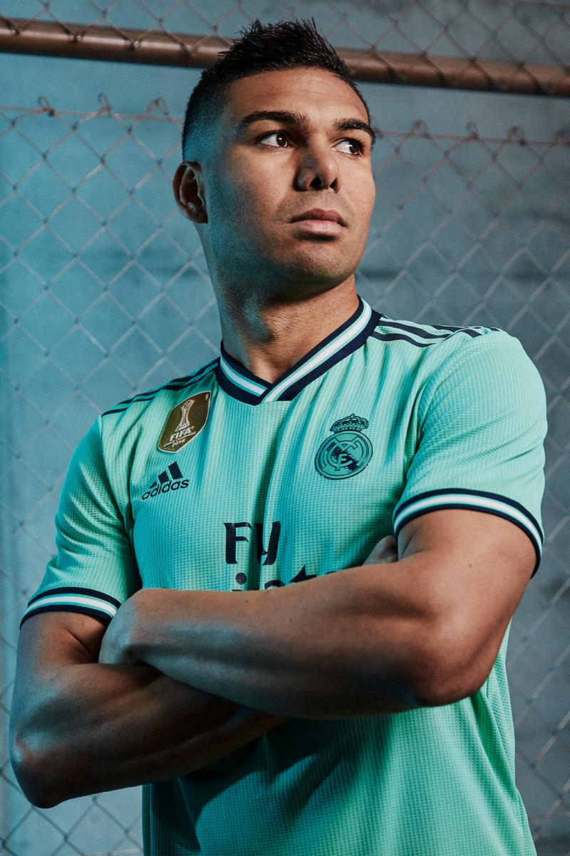 Real Madrid C.F. Third Kit 2019/20 Season La Liga Marcelo Karim Benzema Luka Modric Marco Asensio Isco Casemiro