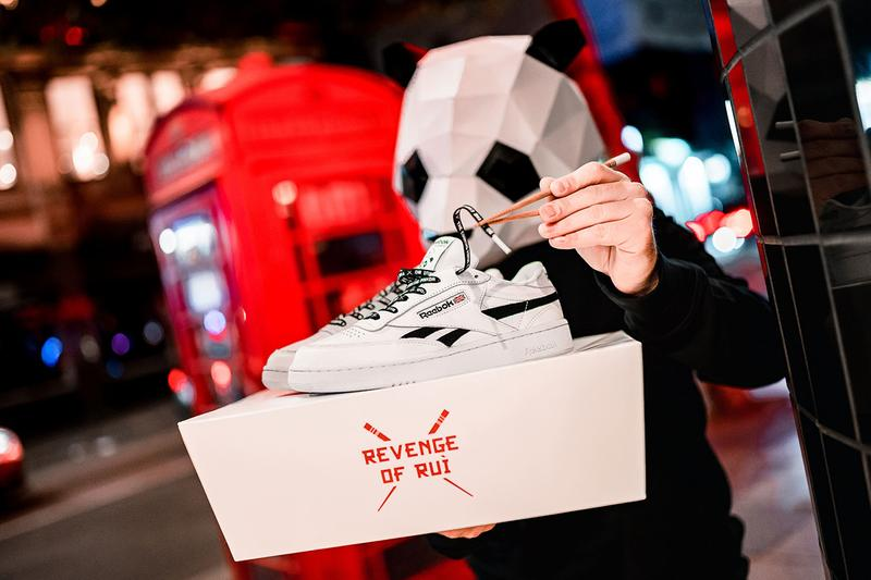 Reebok Club C Revenge Mu 43einhalb Panda Ruì Bù Frankfurt International Food Noodles
