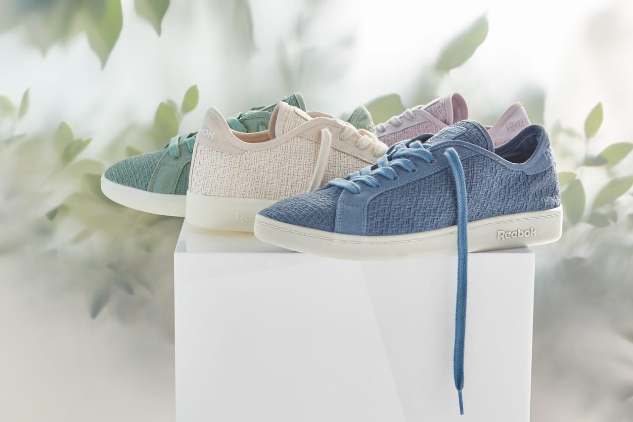 Vegan Cotton + Corn Sneakers Go Pastel