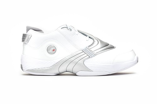 """Reebok Offers Up Its Answer V in Minimalistic """"White/Matte Silver"""" Colorway"""