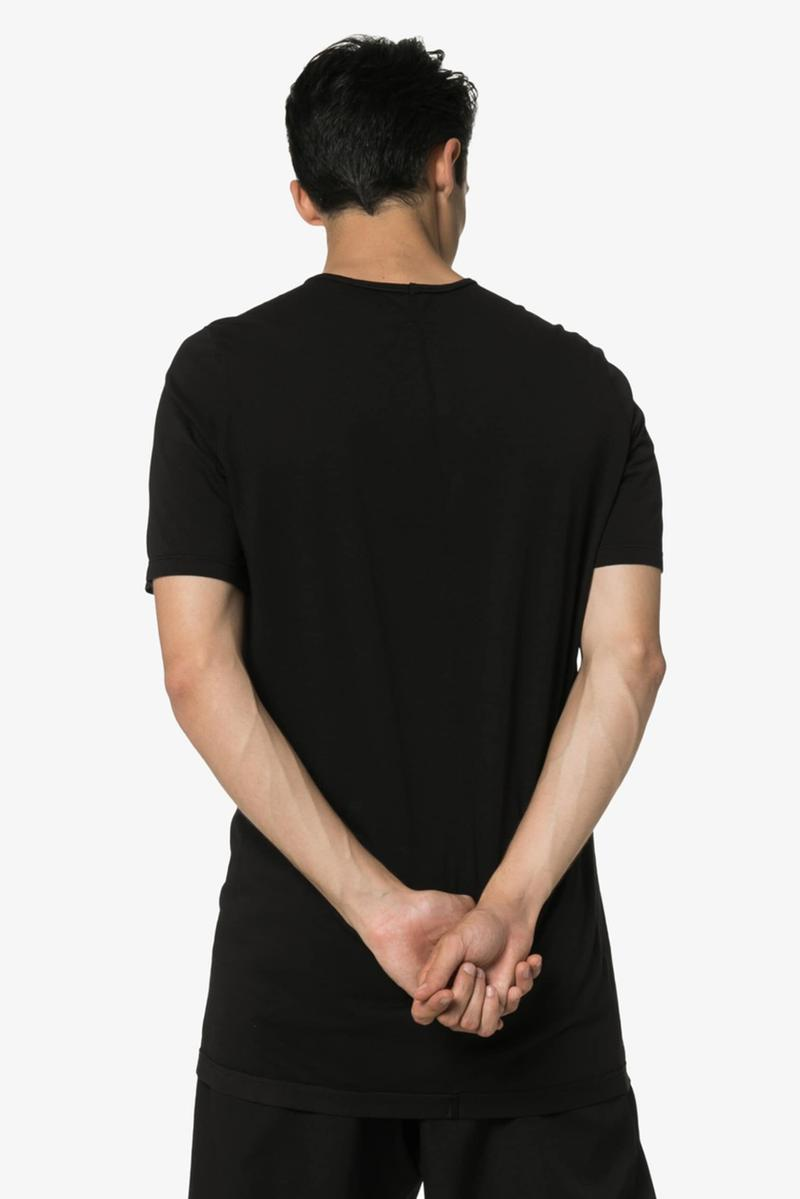 Rick Owens DRKSHDW Photographic Image Shirt Black White