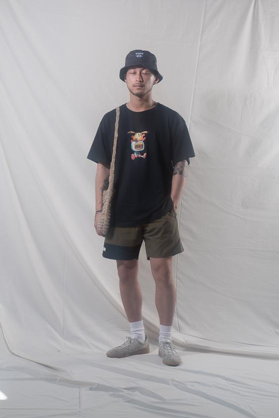 Rōnin division Spring Summer 2019 Collection Lookbook Tees Bucket Hats Shorts Sneakers Sweatshirts Collared Shirts Pants Black Blue White Purple Pink Gray Green Orange Yellow
