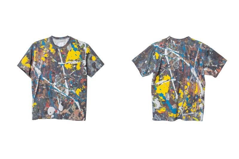 sacai Jackson Pollock Studios Drip Style Paint Collection