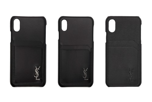 Saint Laurent Offers Three Classic Leather-Clad iPhone Cases