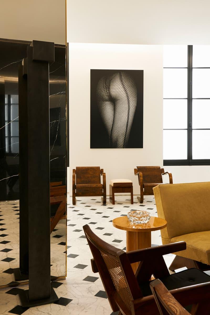 saint laurent rive droite furniture art gallery exhibition