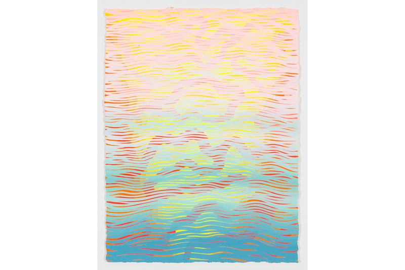 sam friedman days of kindness exhibition dio horia mykonos greece paintings abstract figurative minimalism
