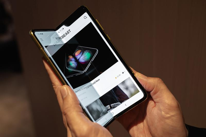 Samsung Galaxy Fold September Release Information Technology Update Smartphone Mobiles $2000 USD Handheld Device Android Infinity Flex Display