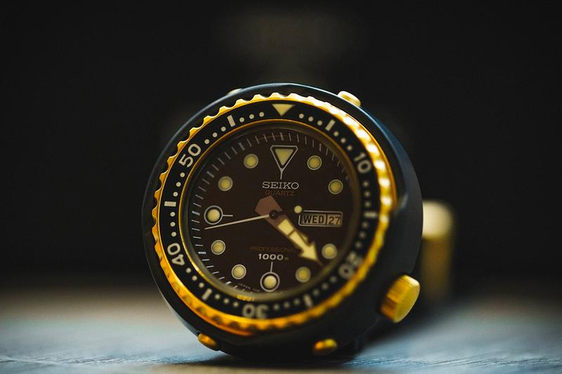 Seiko 1978 Quartz Saturation Diver's Recreation professional diving watch world first retro vintage remake limited edition accessories watches collection