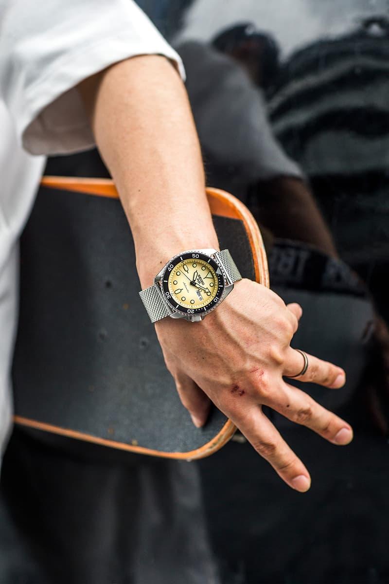 Seiko Drops New Timepieces as Seen on Japanese Skater Shinpei Ueno