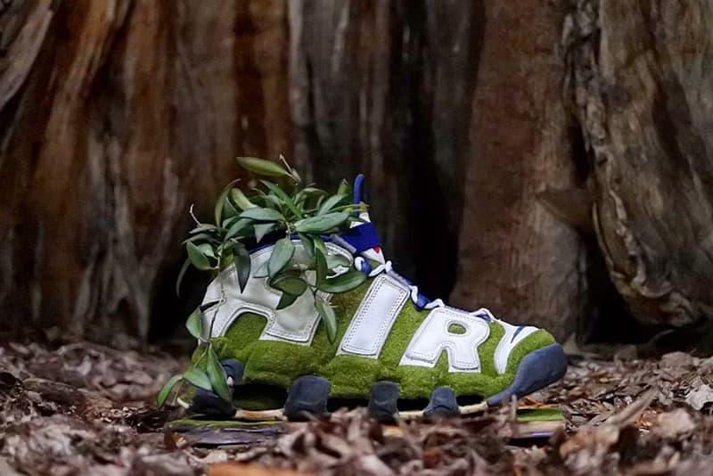 shoetree pop up shop ciaopanic baseyard shop harajuku tokyo japan shoes with plants nike airmax planters