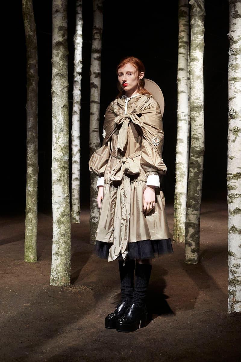 Simone Rocha Moncler Genius Collection Lookbook Designer AW19
