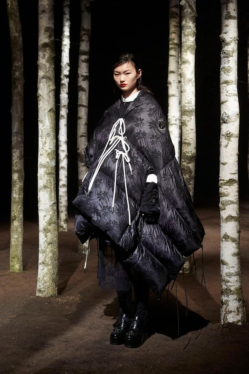 Simone Rocha Moncler Genius Collection Lookbook Designer AW19