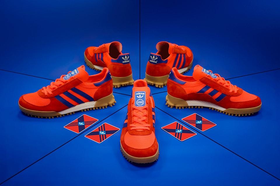 fluir Cumplir recoger  size? x adidas Originals Marathon TR