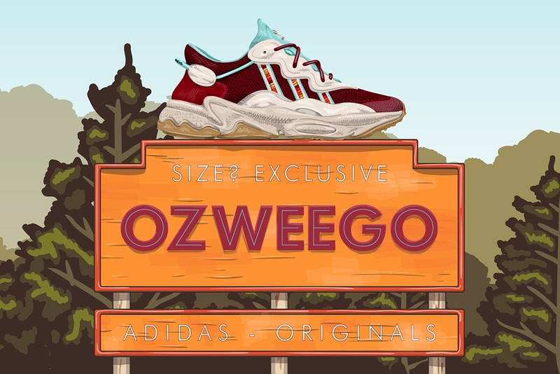 size? Looks to Oregon for Exclusive adidas Originals Ozweego