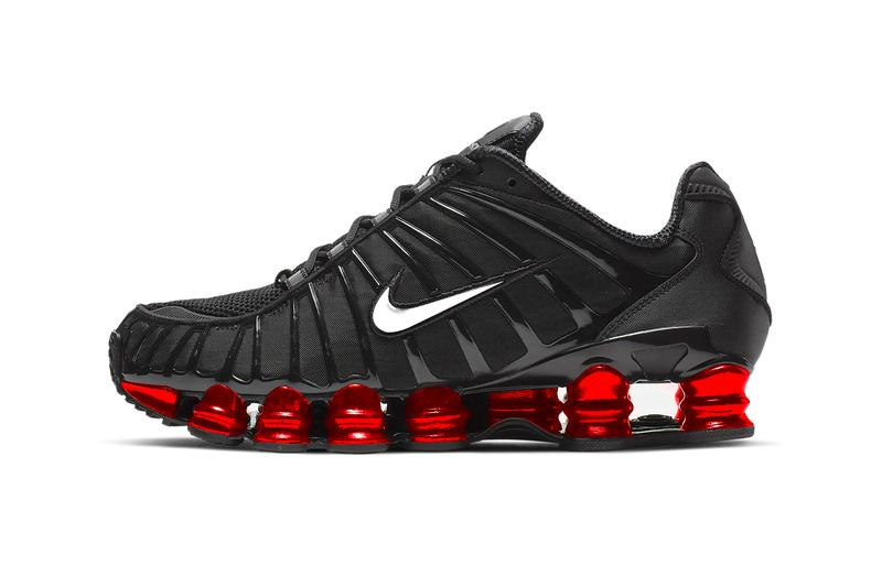 Skepta Nike Shox TL First Look Release Info Date Black Metallic Sliver University Red