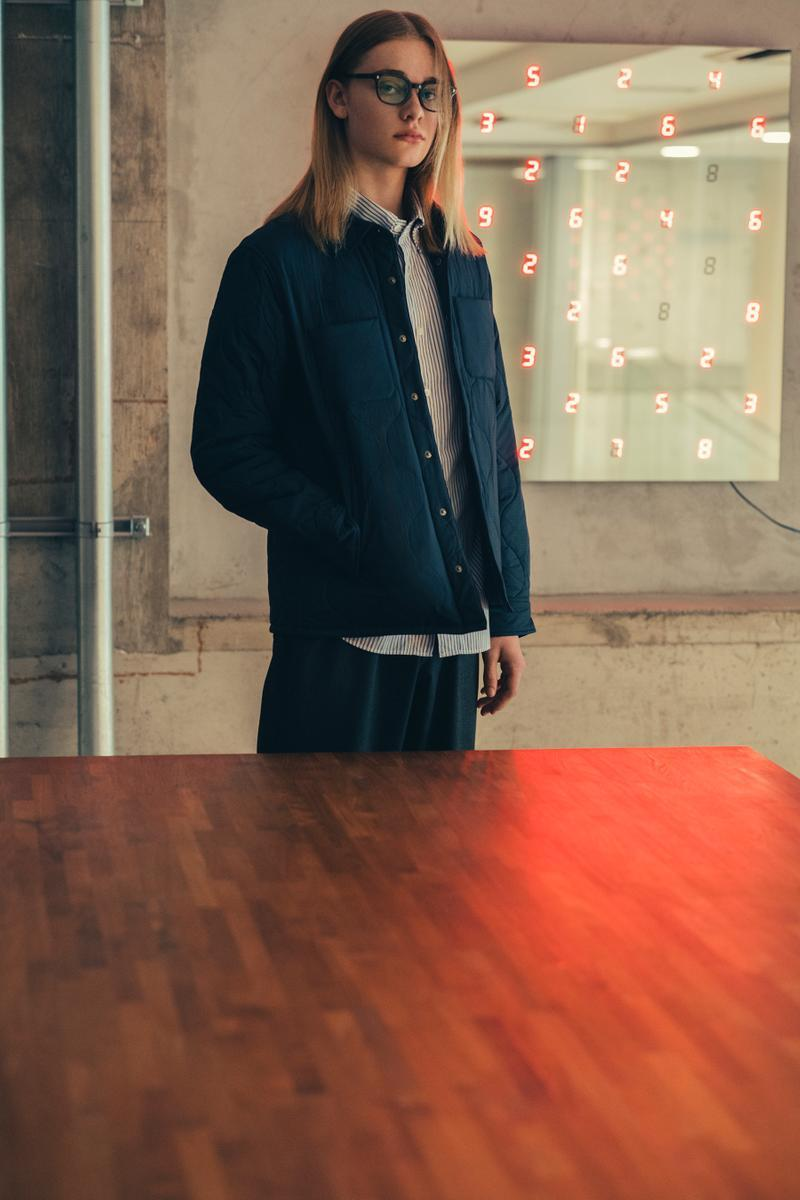 SOPHNET Fall Winter 2019 Lookbook Collection release Jackets Pants Bomber suits Blazers Black Brown Gray Green Beige