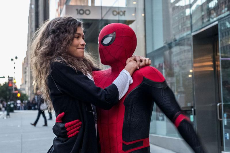 'Spider-Man: Far From Home' box office $185 Million USD marvel cinematic universe review post credit scenes tom holland jake gyllenhaal avengers endgame