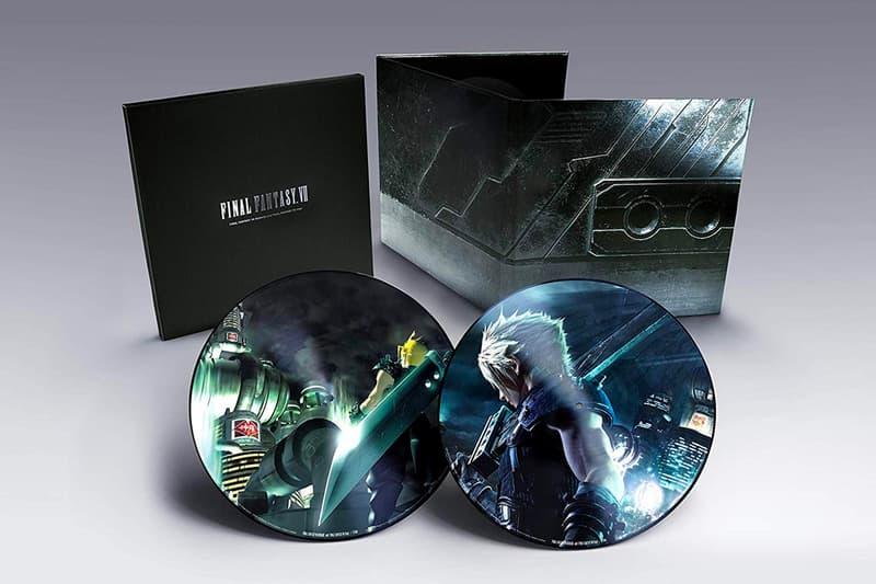 Square Enix Final Fantasy VII Vinyl Release cloud strife barret tifa aeries materia summons gaming playstation PS2 Squaresoft chocobo