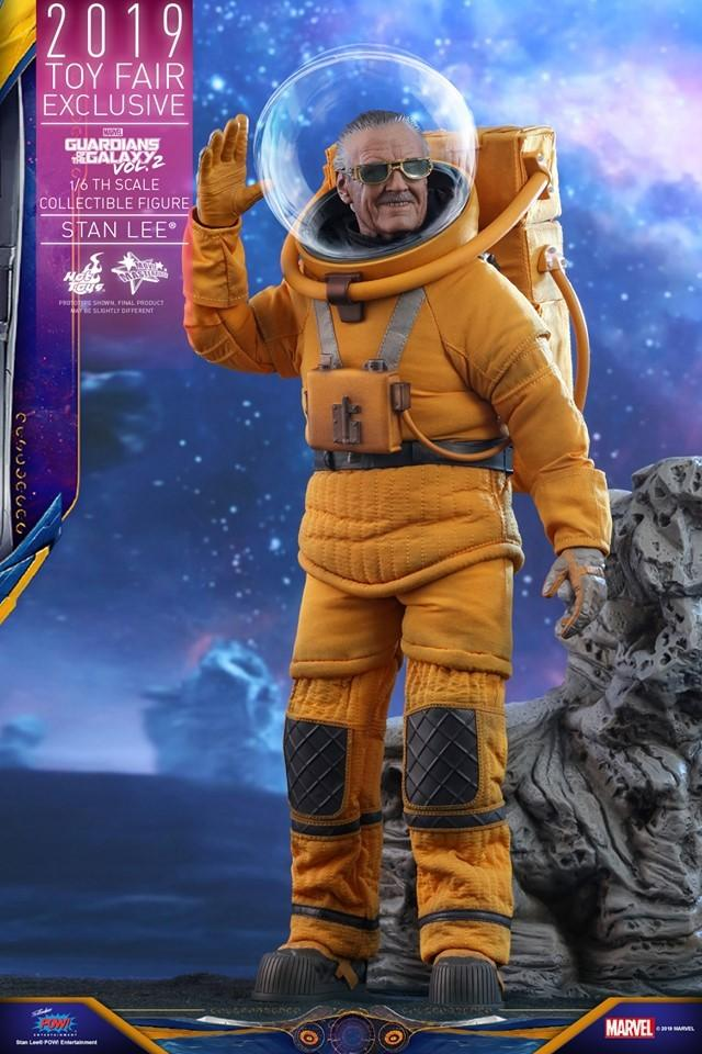 Stan Lee 'Guardians of the Galaxy Vol.2' Hot Toys figures toy fair exclusive