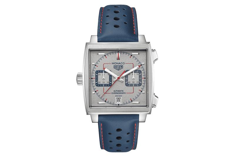 TAG Heuer Monaco 1989 1999 Limited Edition 90s tribute 50th anniversary watches accessories