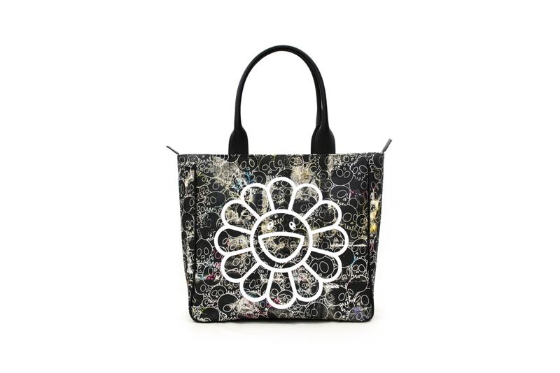 takashi murakami tote bag canvas black skull signed signature one of one unique release details buy cop purchase order perrotin