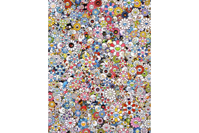takashi murakami from superflat to bubblewrap stpi exhibition artworks paintings sculptures installations
