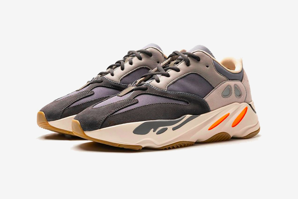adidas YEEZY BOOST 700 Magnet First Look Mafia Blue Black Grey White Orange 2019 Release new colorway Release info DAte
