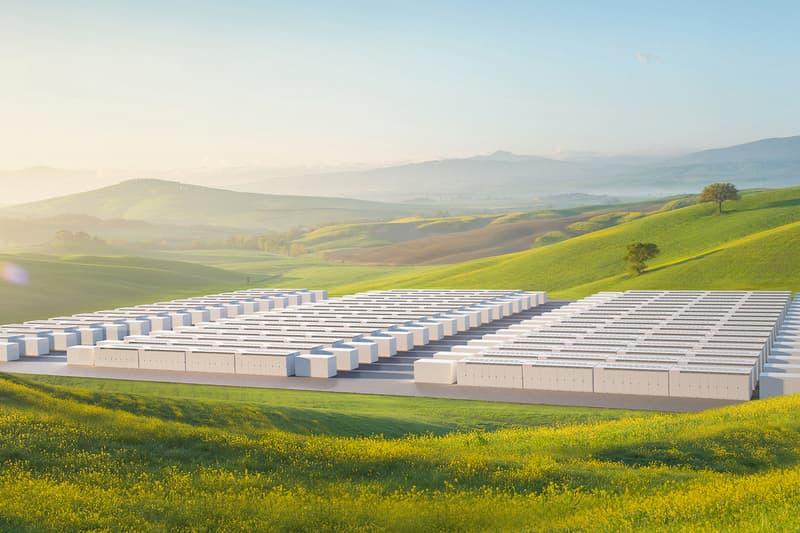 Tesla Megapack Energy Storage System Info Elon Musk battery power electricity utility station