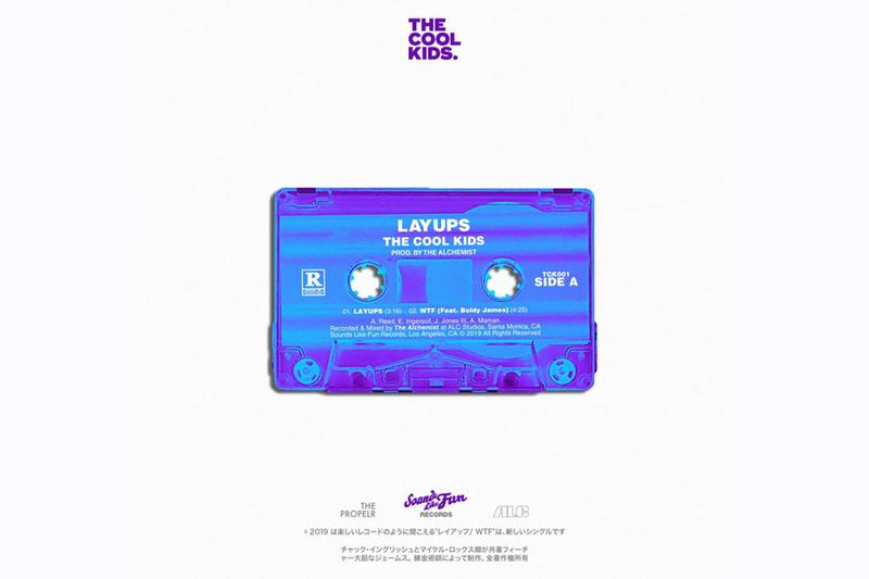 The Cool Kids Alchemist Layups EP Check Inglish Sir Michael Rocks Sounds Like Fun Records