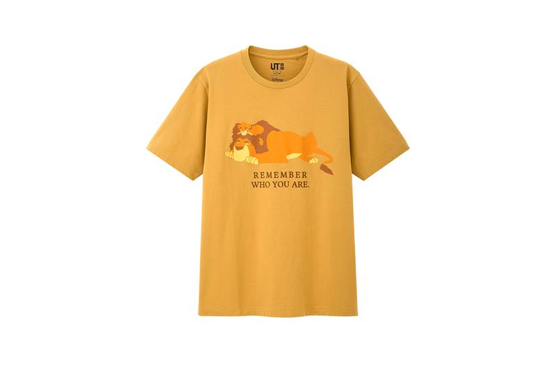 the lion king uniqlo ut summer 2019 capsule collection release t shirts