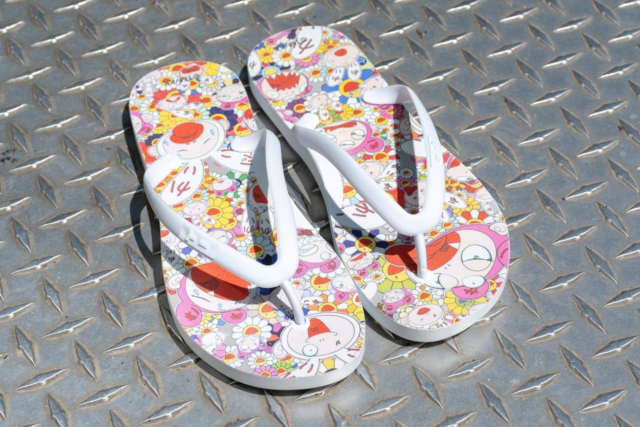 Murakami x TIDAL New York Flip Flops