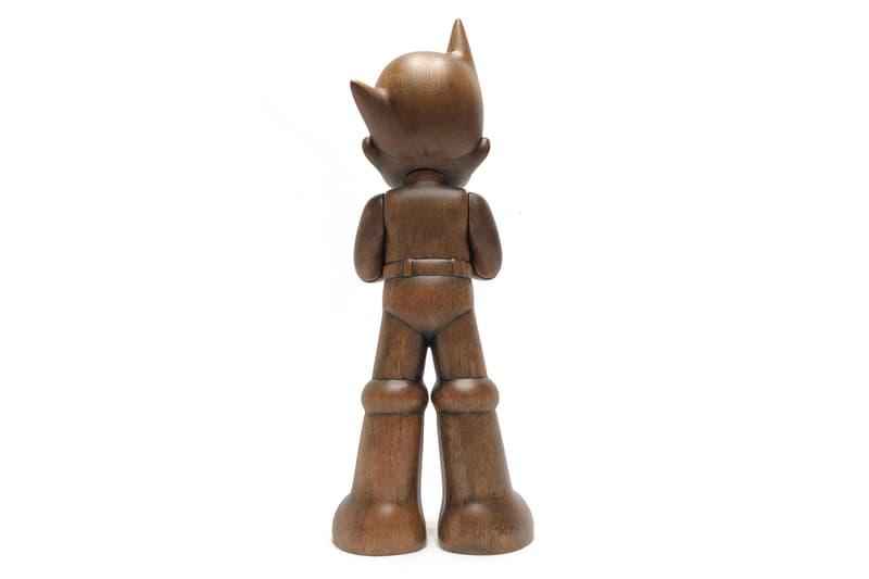 ToyQube Greeting Wooden Astro Boy Release Osamu Tezuka Productions Sapele