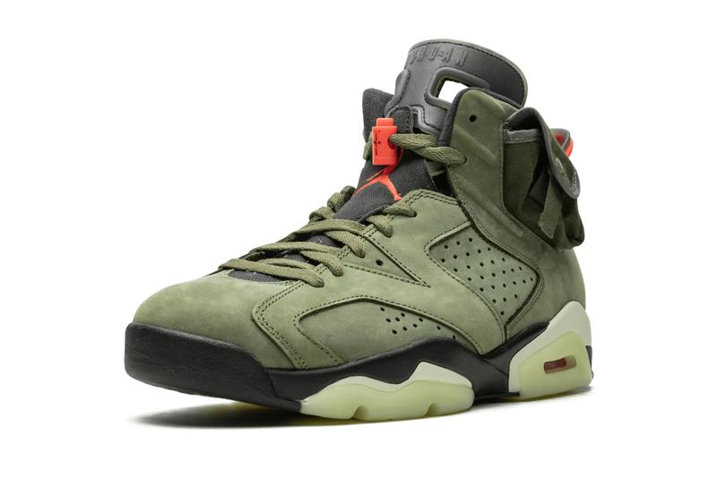 Travis Scott x Air Jordan 6 Better Look cactus jack olive super bowl LIII