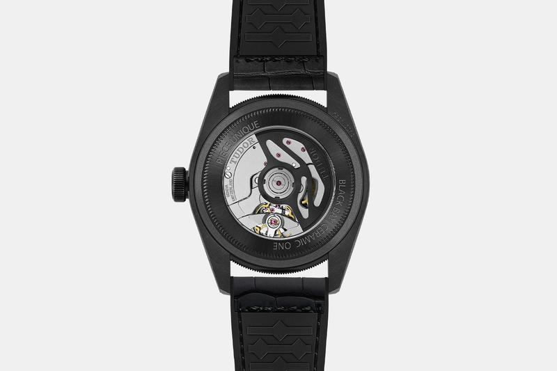 Tudor Only Watch 2019 Ceramic Black Bay One  auction Duchenne muscular dystrophy timepiece watches accessories collection