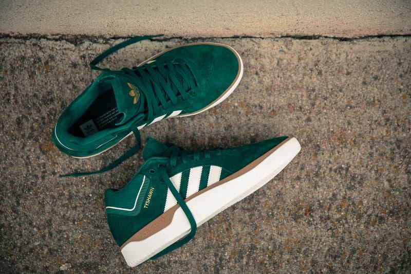 Tyshawn Jones Adidas Skateboarding Green White Signature Model Cargo pants Jacket sneakers shoes pro