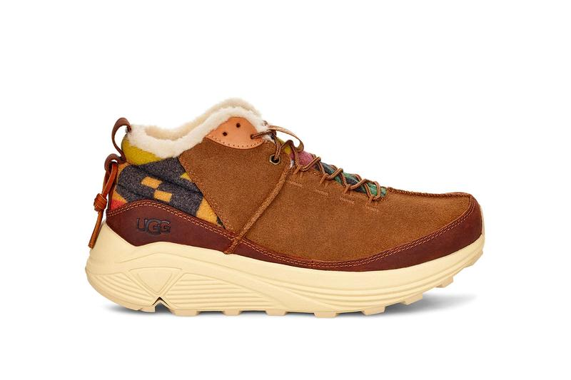 UGG Miwo Trainer High Vibram Sphike RGS Outsole Release uggs wool trail runners native american