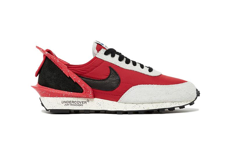 UNDERCOVER Nike Daybreak colorways release date info buy stockist collaboration CJ3295-400 600 1071636  university red black spruce aura obsidian gold dart sail