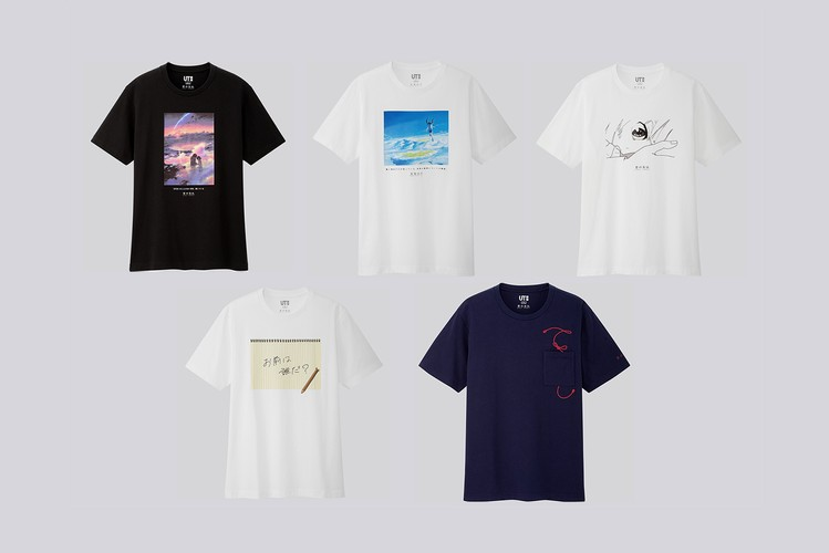 21274f56d046 UNIQLO UT & Makoto Shinkai Are Releasing a T-Shirt Capsule for 'Weathering  With