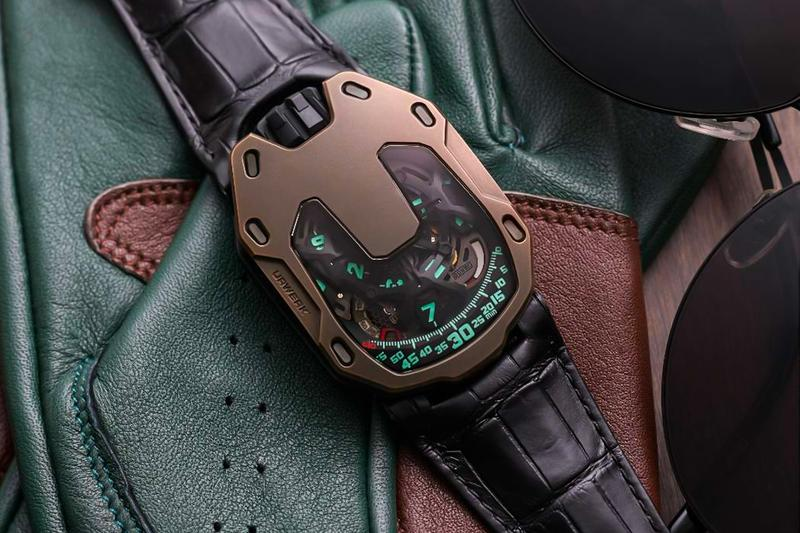 Urwerk x The Hour Glass UR-105 Watch Release Swiss made Baumgartner Frei wristwatches timepiece seconds luxury Singapore