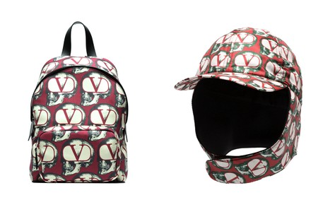 Valentino Drops UNDERCOVER FW19 Backpack, Slides, Foldable Cap & More