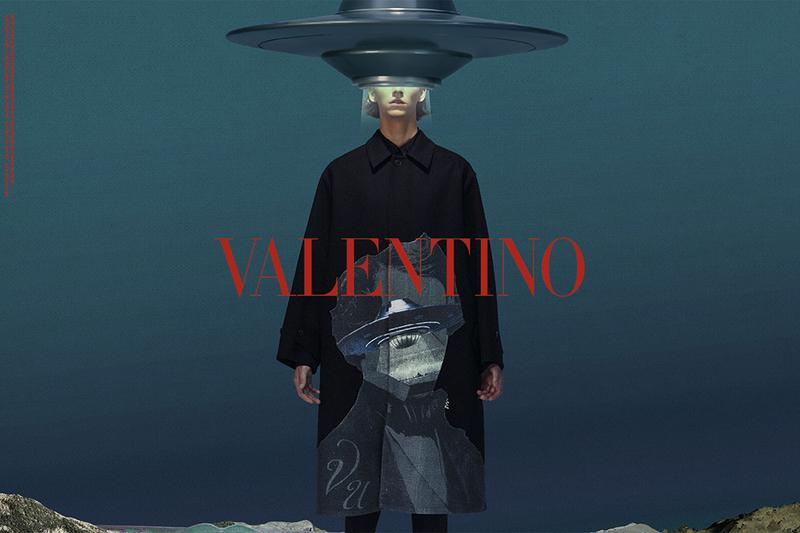Valentino undercover jun takahashi pierpaolo piccioli collaboration collection fw19 fall winter 2019 campaign imagery july 27