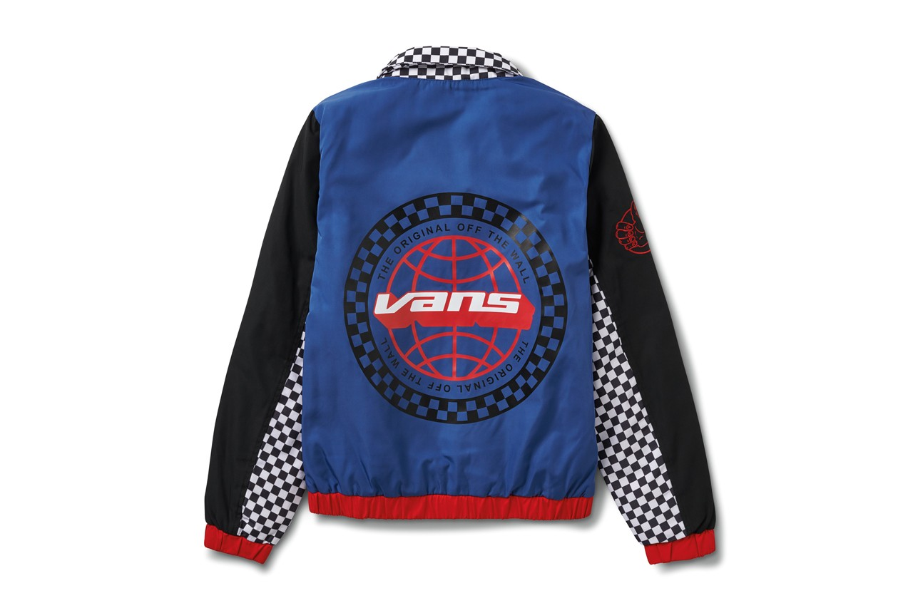 Vans BMX Anniversary Collection Sneakers Jackets Pants Hats Backpacks Checkered Blue Red Neon Green Yellow White Black Off The Wall