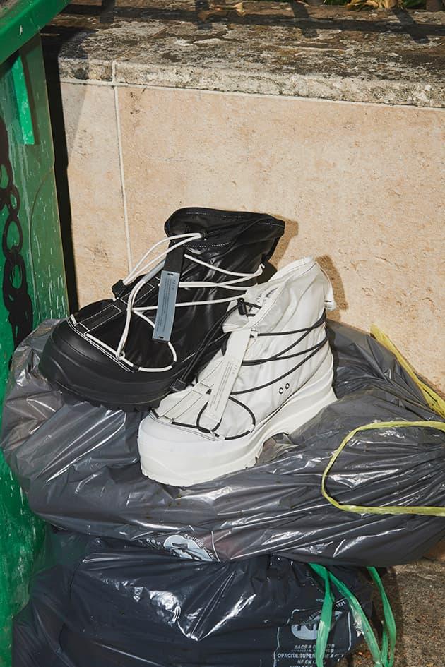 VEIN 2020 SPRING SUMMER footwear COLLECTION boots sneakers brutalism design vibram japan japanese