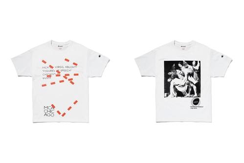 """Virgil Abloh Taps Renaissance Art & PYREX VISION in """"Figures of Speech"""" T-Shirt Capsule"""
