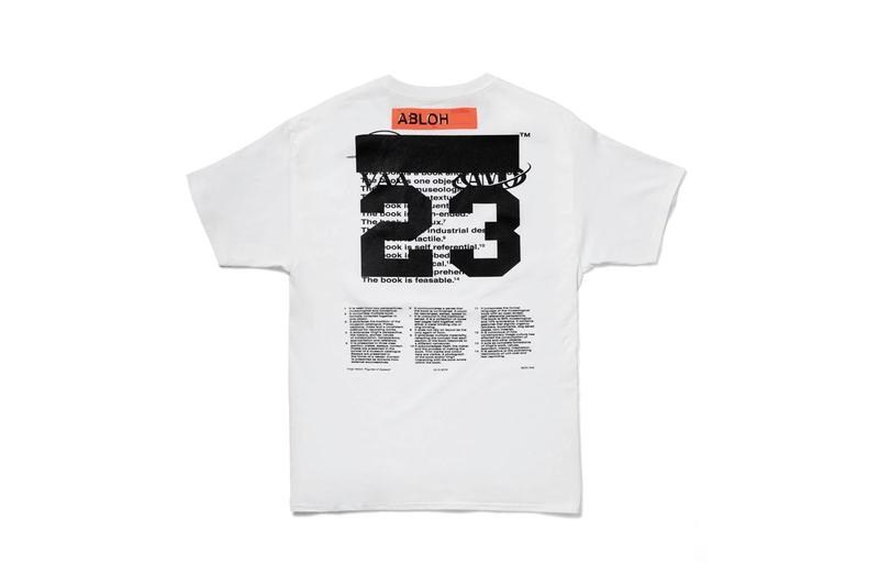 "MCA c/o Virgil Abloh ""Figures of Speech"" Exhbition Museum Of Contemporary Art Chicago T-Shirts Postcards Poster Book Pyrex Vision Collections Limited Edition Art Clothing Louis Vuitton Mens Creative Director"