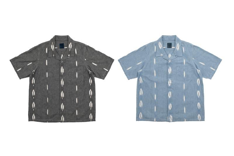visvim Spring Summer 2019 Collection Free Edge Shirt ND Hiroki Nakamura natural dye water buffalo horn button hawaiian shirt short sleeve button up john mayer stencil dye folkwear